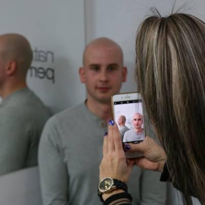 efekt mikropigmentacji skróy głowy