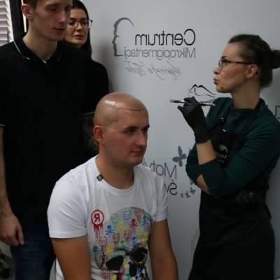 szkolenie linia frontalna skóry głowy