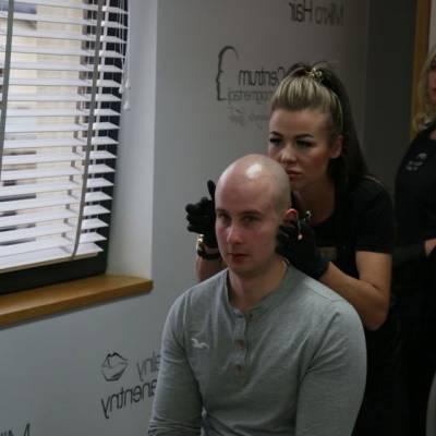 szkolenie rysunek mikropigmentacja skóry głowy