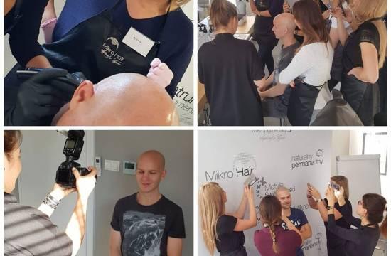 Szkolenie mikropigmentacja skóry głowy Warszawa